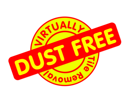 Virtually Dust Free Tile Removal
